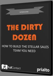 Dirty Dozen Sales Team Ebook