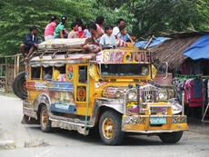 A Manila Jeepney Commute - Room for one more?