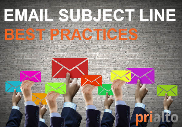 email subject line best practices to improve customer email open rates