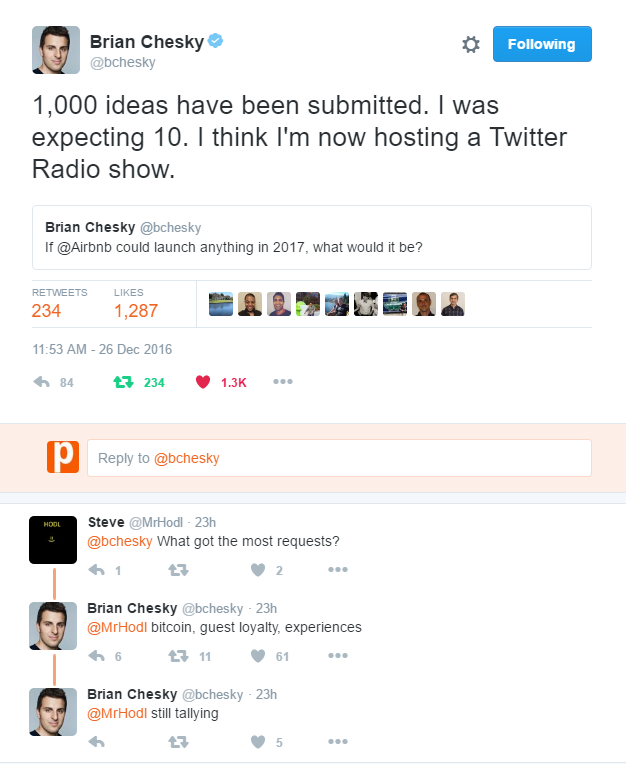 AirBnB CEO Brian Chesky Twitter Feed Final Conversations.png