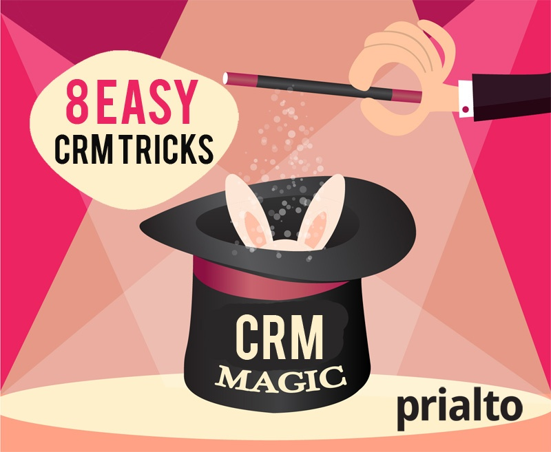8 Easy CRM Tricks you can do today