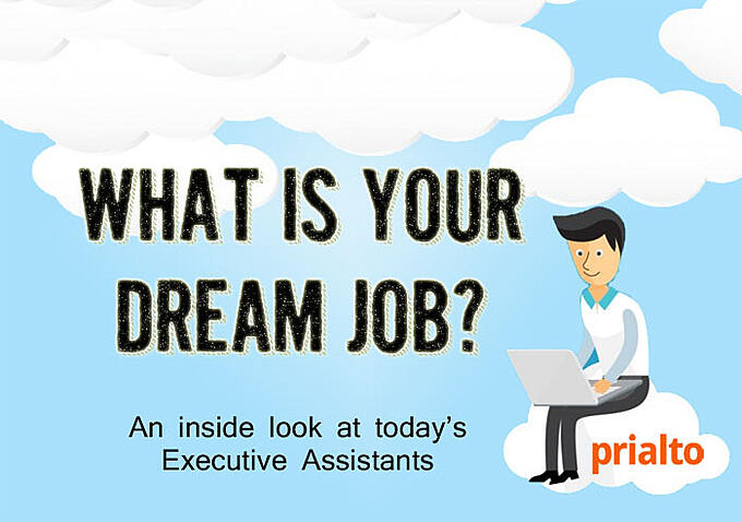 what's your dream job? A look at the modern day virtual executive assistant
