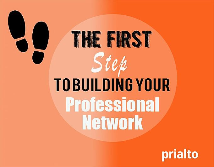 The first step to building your professional network!