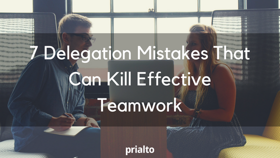 delegation mistakes