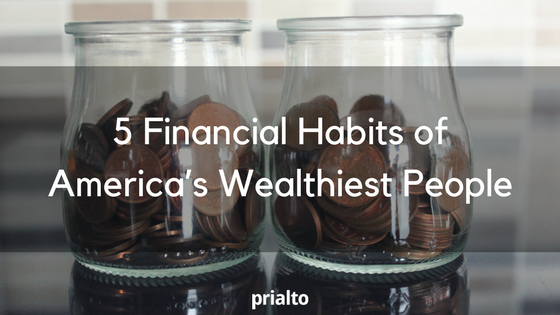 financial habits of wealthy people