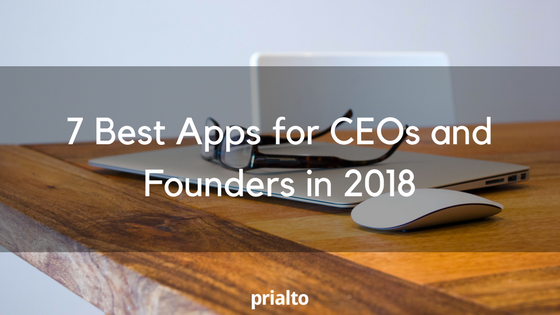 best apps for ceos 2018