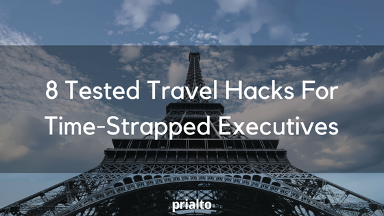 travel hacks for executives