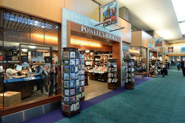 Powell's Books in PDX International Airport.jpg