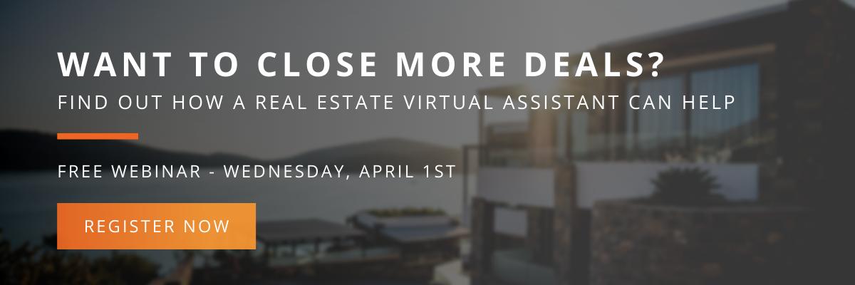 Real estate webinar - want to close more deals